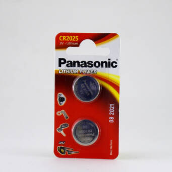 Panasonic CR2025 blister/2